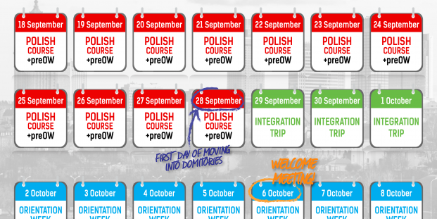 Plan your first weeks in Poland with ESN PW